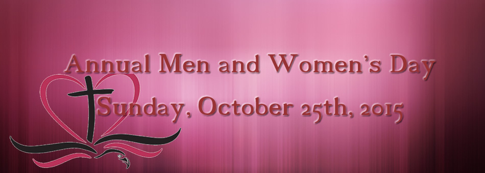 Themes for a church men and women day | just b.CAUSE